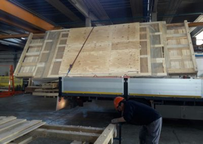 Imballaggio in legno personalizzato