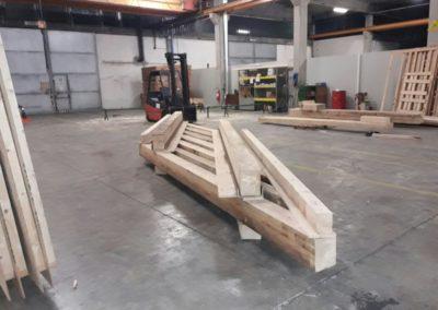 Supporto in legno su misura