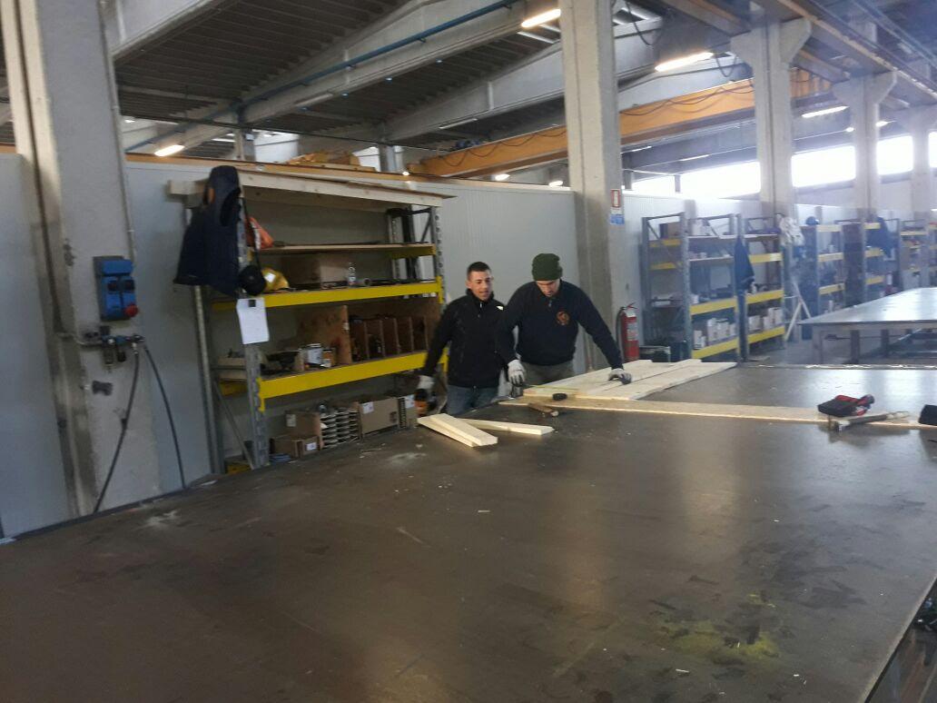 Operai qualificati nella lavorazione legno