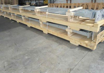 Supporti per imballaggio in legno personalizzati