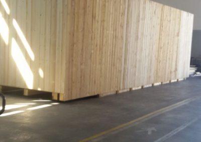 Cassa in legno pronta per trasporto