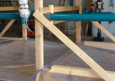 Cavalletti in legno per imballaggi