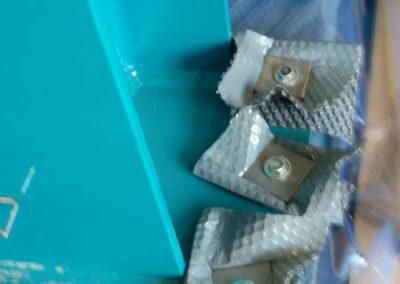 Assemblaggio supporti per imballaggio in legno