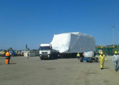 Trasporto imballaggio in legno su misura: