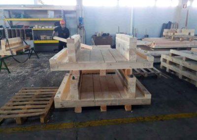 Supporti in legno per prodotti particolari