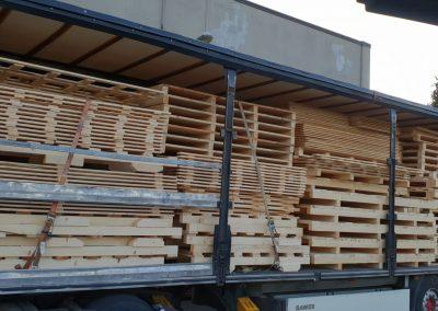 Trasporto per imballaggi industriali in legno